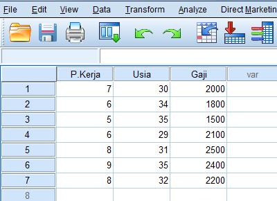 cara menghitung korelasi parsial dengan menggunakan program spss statistik 2