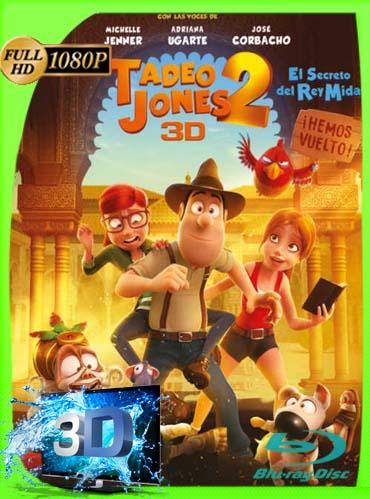 Tadeo Jones 2: El secreto del Rey Midas (2017) 3D SBS BDRIP1080pLatino [GoogleDrive]