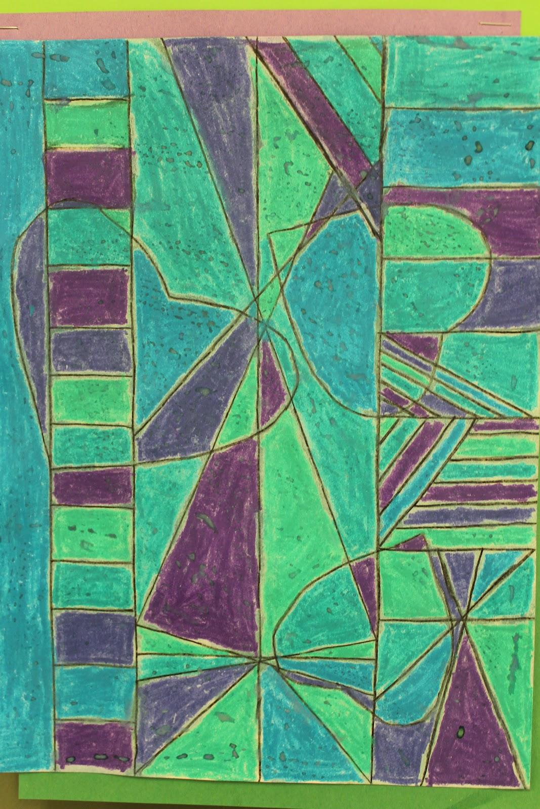 The Elemental Art Room Cubist Hearts Paul Klee