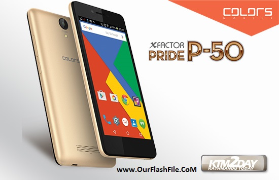 Colors P50 MT6580 Firmware Flash File Stock Rom 100% Tested