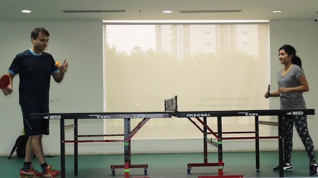 V Club table tennis