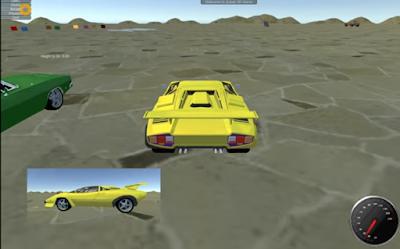 Free Download Complete Project Unity 3D - Car Acrobats  2