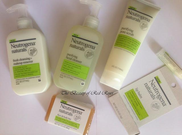 The Beauty Of Red Roses New Neutrogena Naturals Skin Care Range
