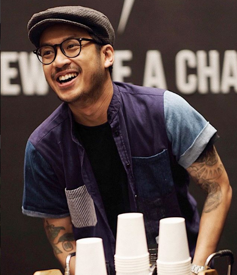 Muhammad Aga, The 1st Winner of Indonesia Barista Competition