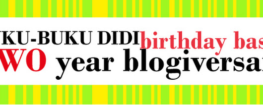TWO YEAR Blogiversary! (INT Giveaway)