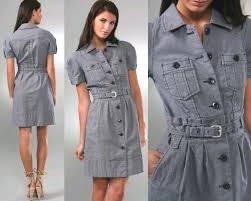 vestidos jeans para senhoras - dicas e modelos