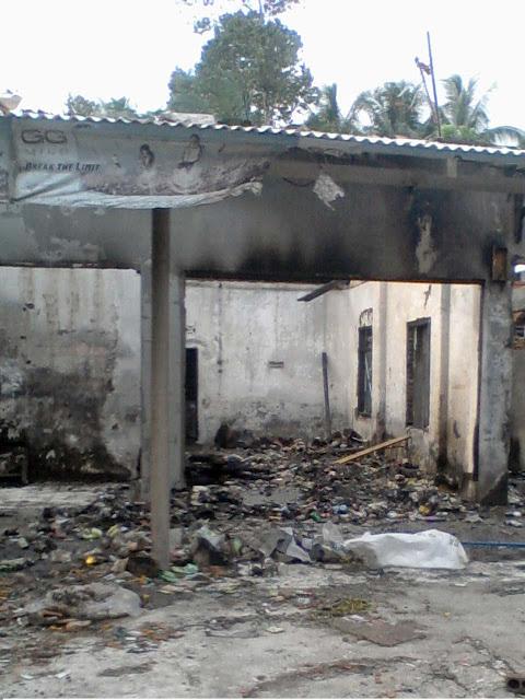 pangandaranlife_toko dibatukaras terbakar