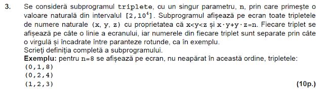 bac 2014 septembrie matematica informatica