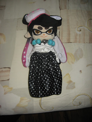 Callie plushie Splatoon Squid Sisters Team Fancy dressed up dress