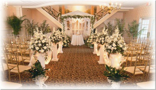 Indoor Home Wedding Decorations Modern Wedding Ideas And