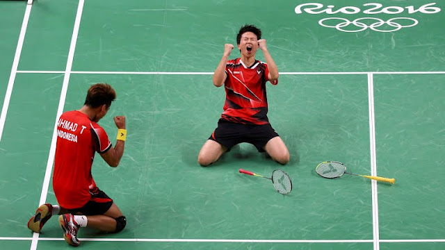Live Streaming Final Mixed Double Badminton Olympic 2016 [17/August/2016]