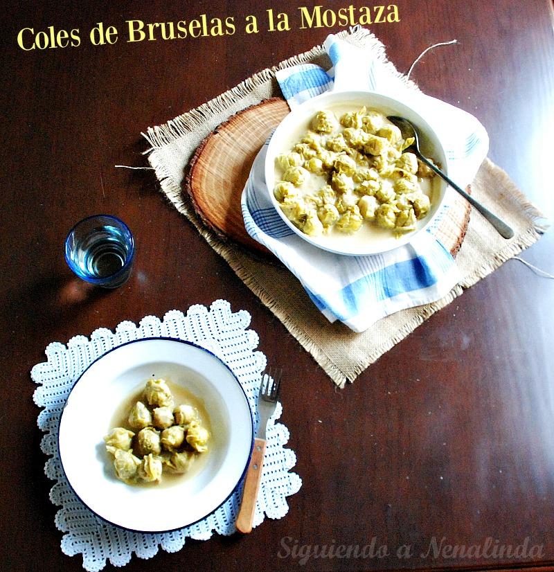Siguiendo a nenalinda coles de bruselas a la mostaza - Cocinar coles de bruselas ...