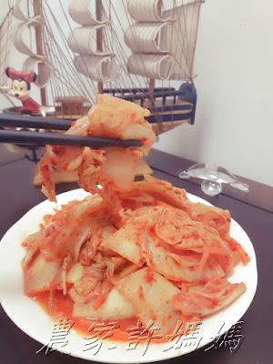 農家許媽媽-韓國泡菜年糕如何製作
