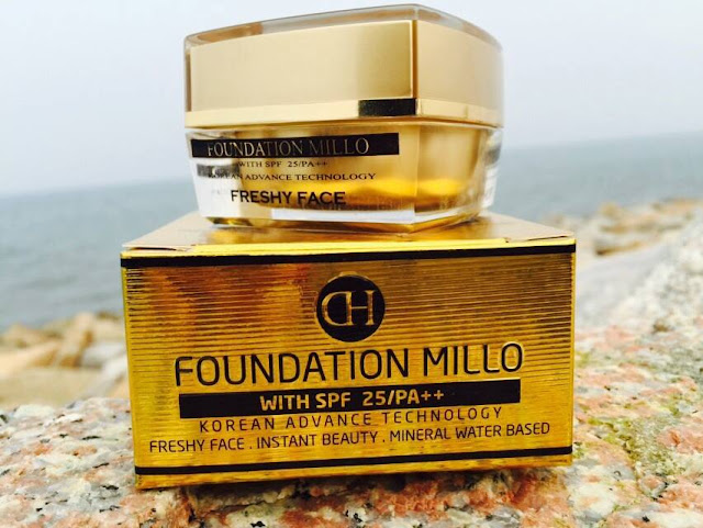 Millo Foundation Freshy Face SPF 25