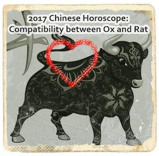 2017 Chinese Zodiac Compatibility between Ox Rat Tiger Rabbit