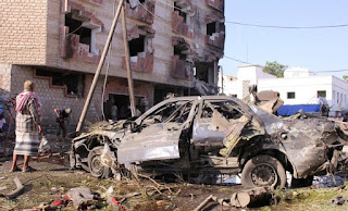 Dozens killed or wounded in south Yemen suicide attacks: witnesses