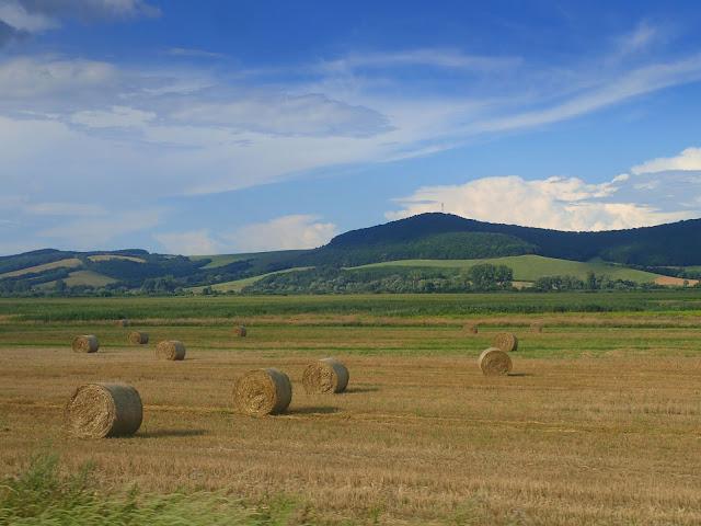 Widoki z tranzytu przez Słowację