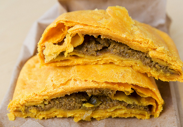 what i'm lovin today  the jamaican patty