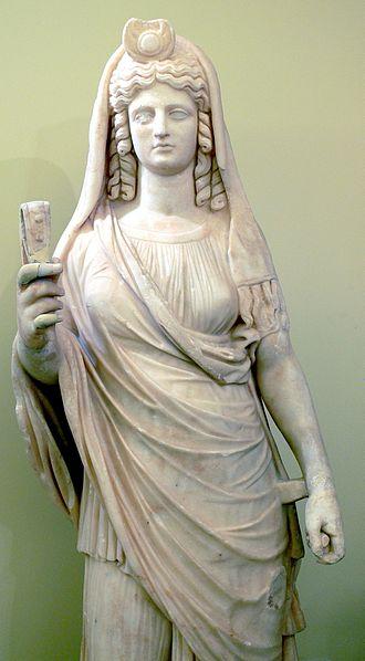 Tượng Hy Lạp cổ Nữ hoàng Persephone