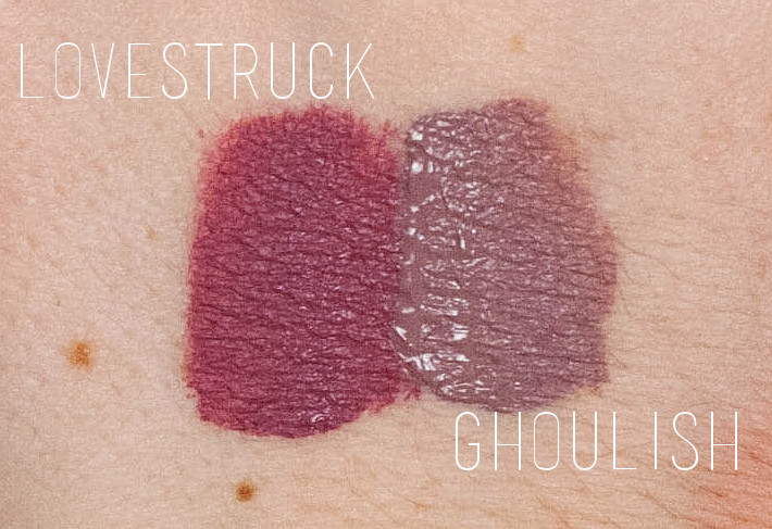 Beauty: LA Splash Lovestruck and Ghoulish review and swatches