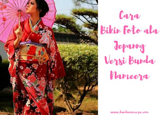 Begini cara bikin foto ala Jepang, FotoKimono