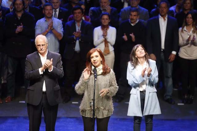Cristina Fernández y Unidad Ciudadana lanzan campaña en Mar del Plata