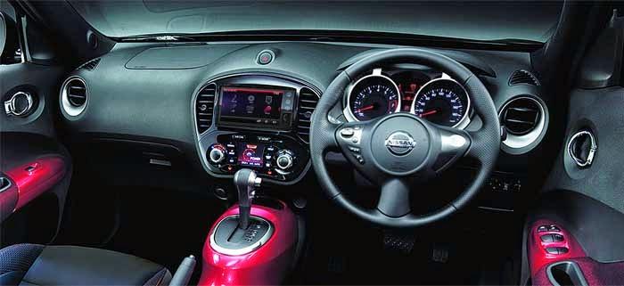 Dashboard Nissan Juke 2015