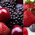 Berries Fruit a rich food in carbohydrates