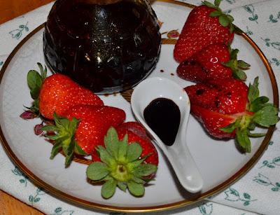 fragole con aceto balsamico