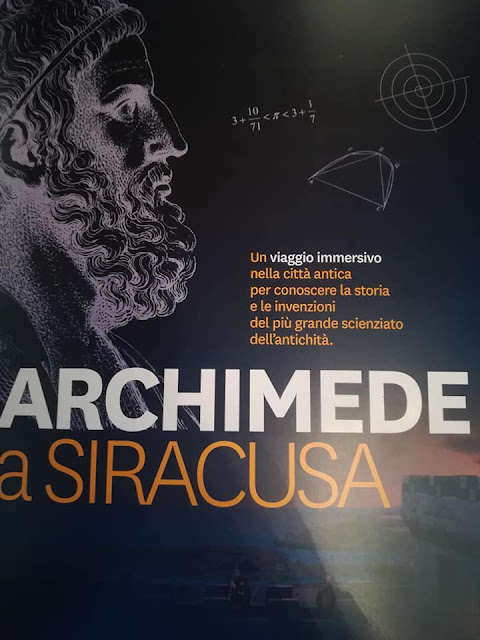 'Archimedes of Syracuse' at the Galleria Civica Montevergini, Syracuse