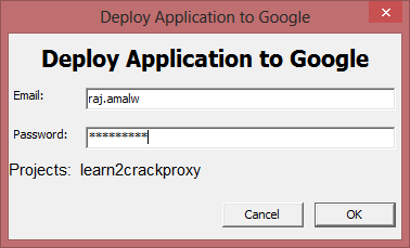 How to Setup a Proxy Server with Google App Engine