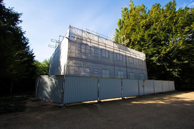 Casa bianca-Parco Lazienki-Varsavia