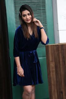 Actress Payal Rajput Stills at Disco Raja movie interview