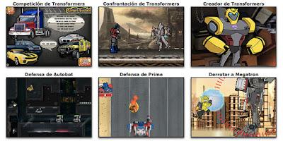 Nuevos juegos de Transformers (Autobots)