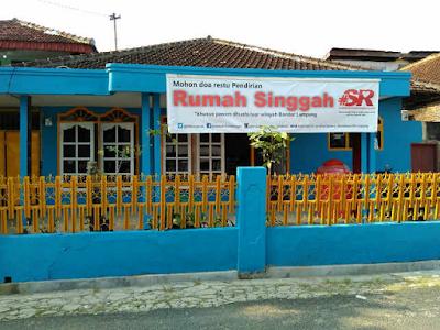 Peresmian Rumah Singgah Sedekah Rombongan Bandar Lampung