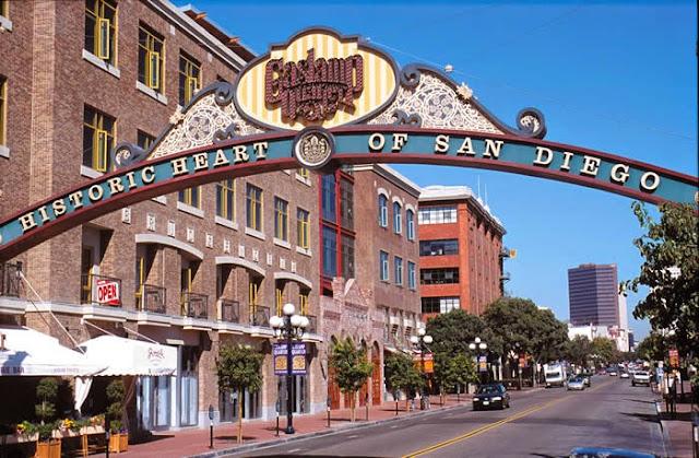 Ficar hospedado na região de Gaslamp Quarter em San Diego