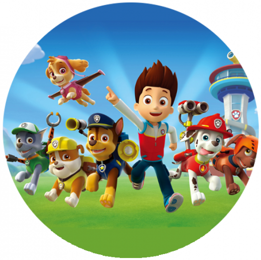 Free Printable Toppers of  Paw Patrol.