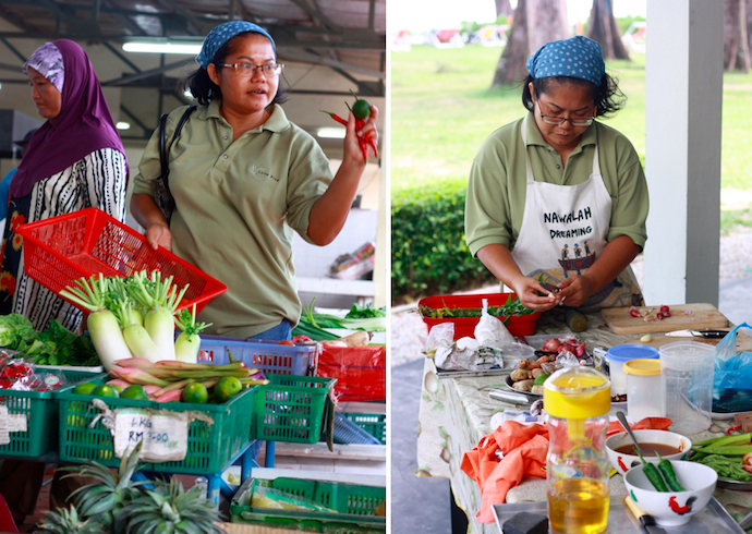 Cooking class Penang with Nazlina Hussin of Pickles and Spices
