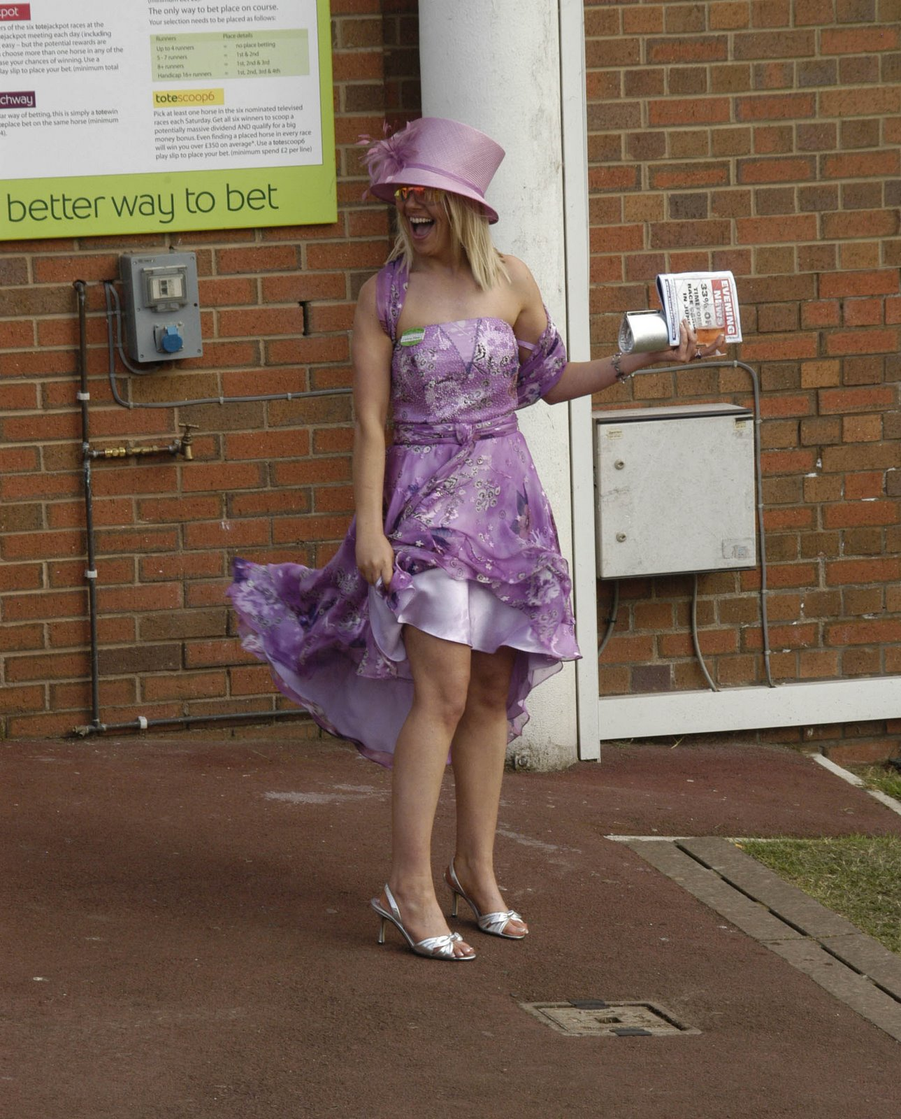 The Memories Of A Strict Uncle: Royal Ascot Upskirts