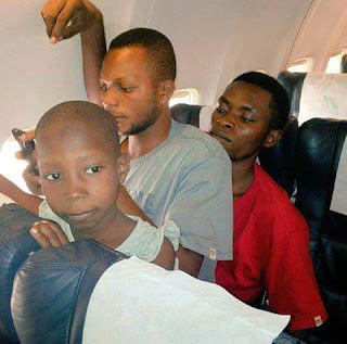 Emmanuella & Mark Angel Comedy Laps from Lagos To Port Harcourt Flight!