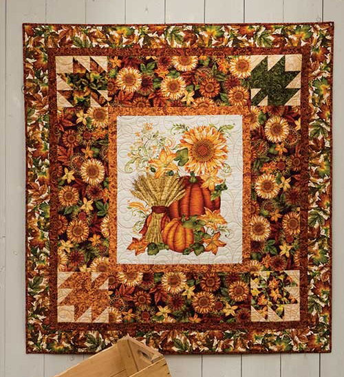 Welcome Harvest Quilt Free Pattern
