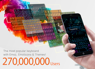 touchpal android keyboad themes