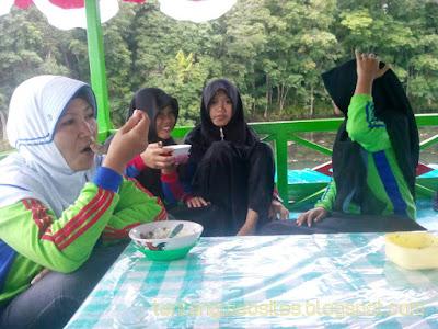 Objek wisata Danau Aur lubuk linggau
