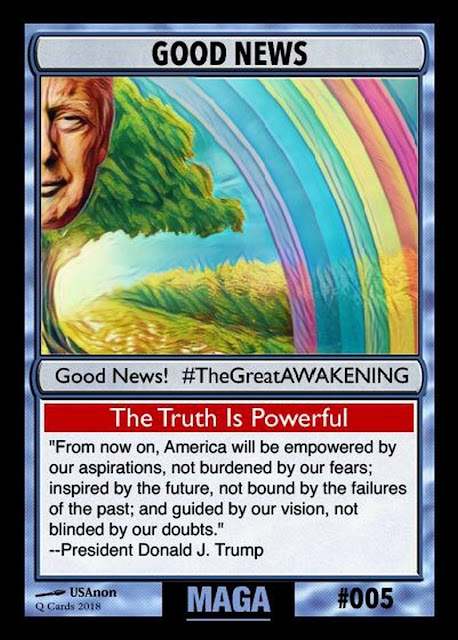 Collectable Q Anon Card Deck -- For the Avid Freedom Fighter! 05%2BGood%2BNews