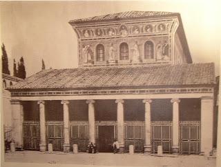 sao lourenco antes bombardamentos - Basílica de São Lourenço Fora dos Muros