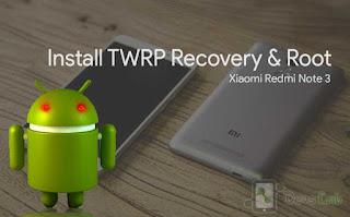 Cara Memasang CWM/TWRP Recovery pada Xiaomi Redmi Note 3