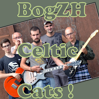Groupe BogZH Celtic Cats ! Rock celtique, punk folk en breton, anglais, français