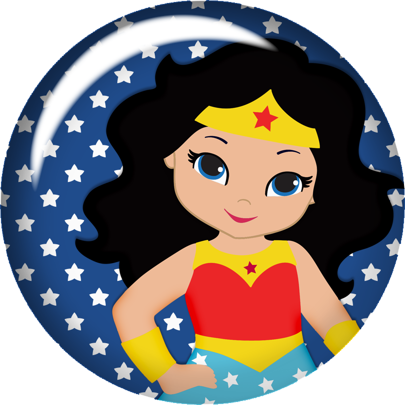 Wonder Woman Baby Clipart. - Oh My Fiesta! for Geeks