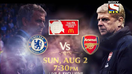 jadwal siaran langsung tv arsenal vs chelsea