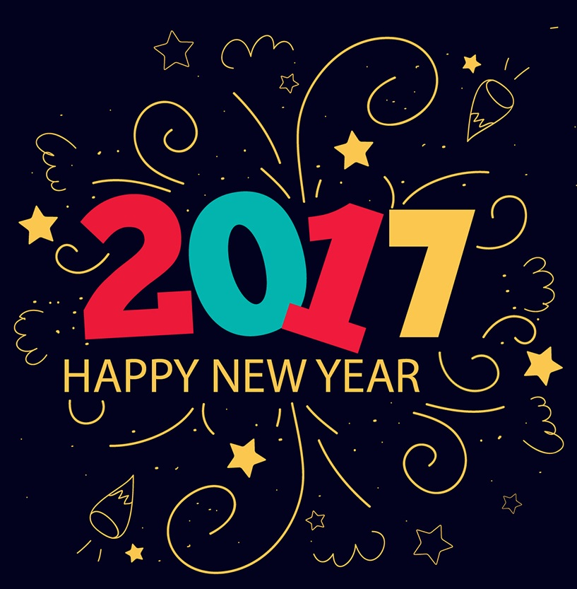 Happy New Year 2017 Wallpaper and Cards | New Year 2017 Wishes on ...